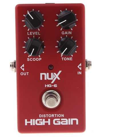 Distortion High Gain Guitar Effect Pedal