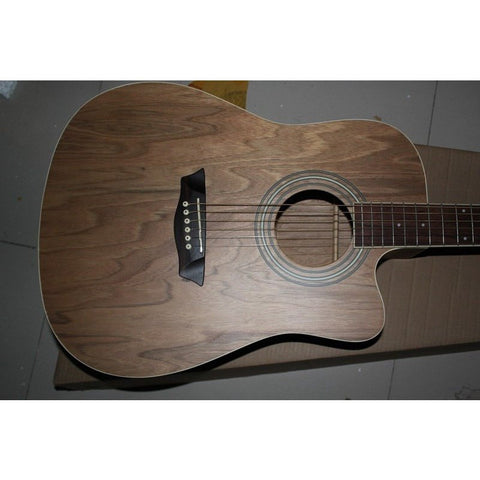 "41"" Single Spruce Electric Acoustic Guitar"