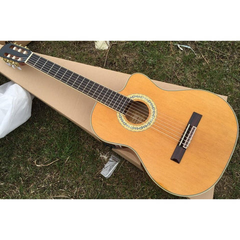"39"" Electric Acoustic Classical Guitar with Bag and Tuner"