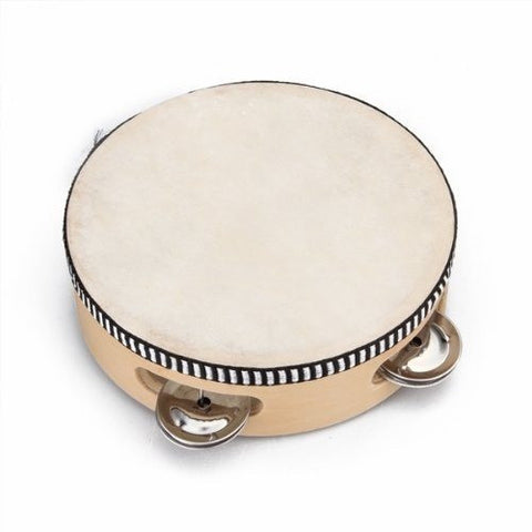 "6"" Musical Tambourine Percussion"