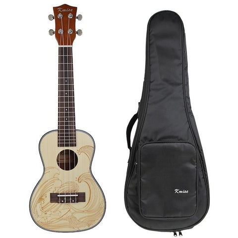 "23"" Spruce Concert Ukulele with Bag"