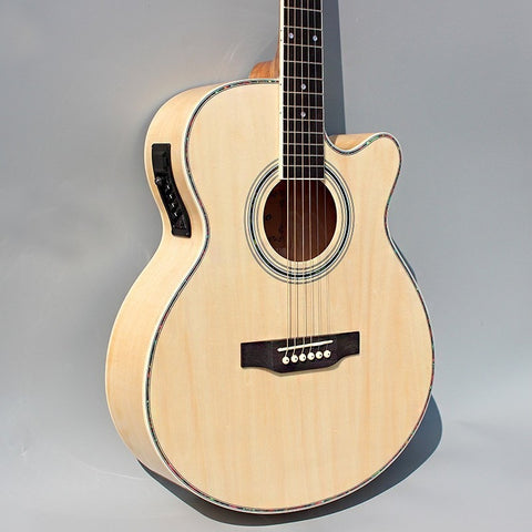 "40"" Electric Acoustic Guitar with Cutaway"