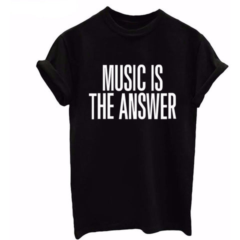Music is the Answer Women's T-Shirt