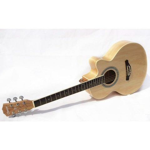 "39"" Natural Colored Acoustic Guitar"