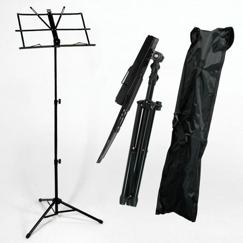 Adjustable Sheet Music Stand with Carry Bag
