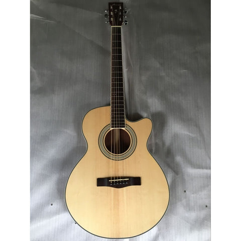 Thin Body Sapele Electric Acoustic Guitar