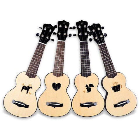 "17"" Spruce Ukulele with 4 Options"