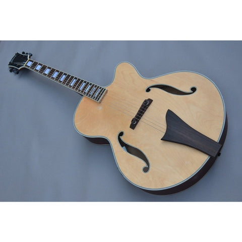 Hollow Body Jazz Electric Acoustic Guitar