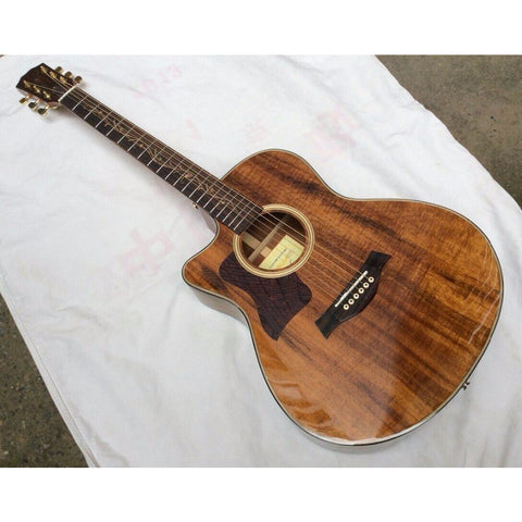 "41"" Left Handed Electric Acoustic Guitar"
