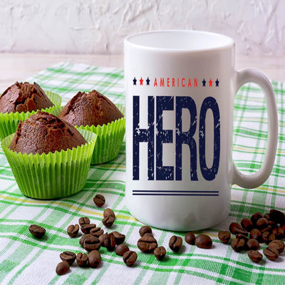 COFFEE MUG - AMERICAN HERO COFFEE MUG