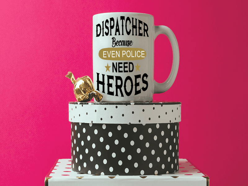 COFFEE MUG - DISPATCHER COFFEE MUG