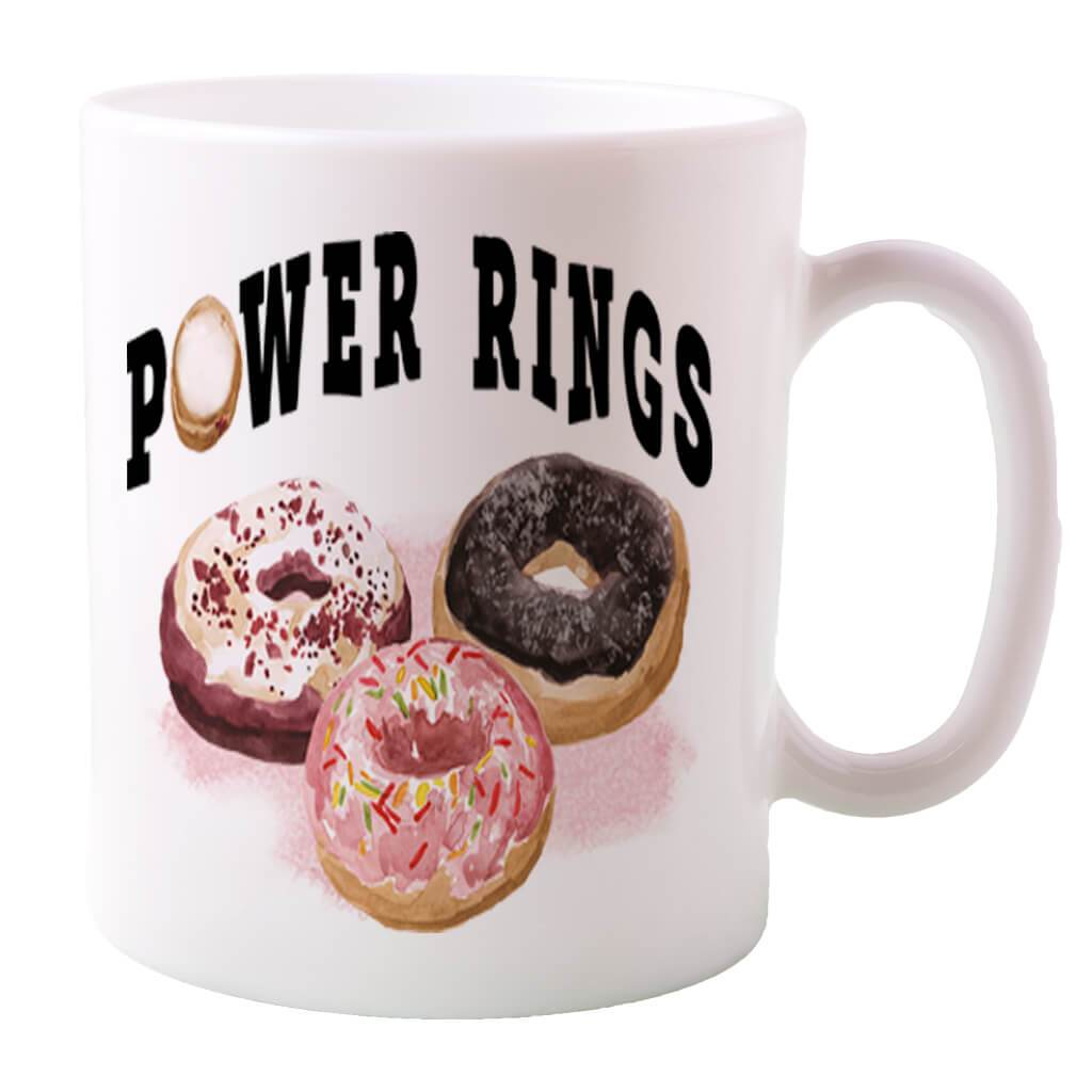 POWER RINGS COFFEE MUG