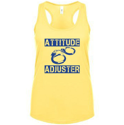 Fitted Racerback Tank - ATTITUDE ADJUSTER FITTED RACERBACK TANK TOP
