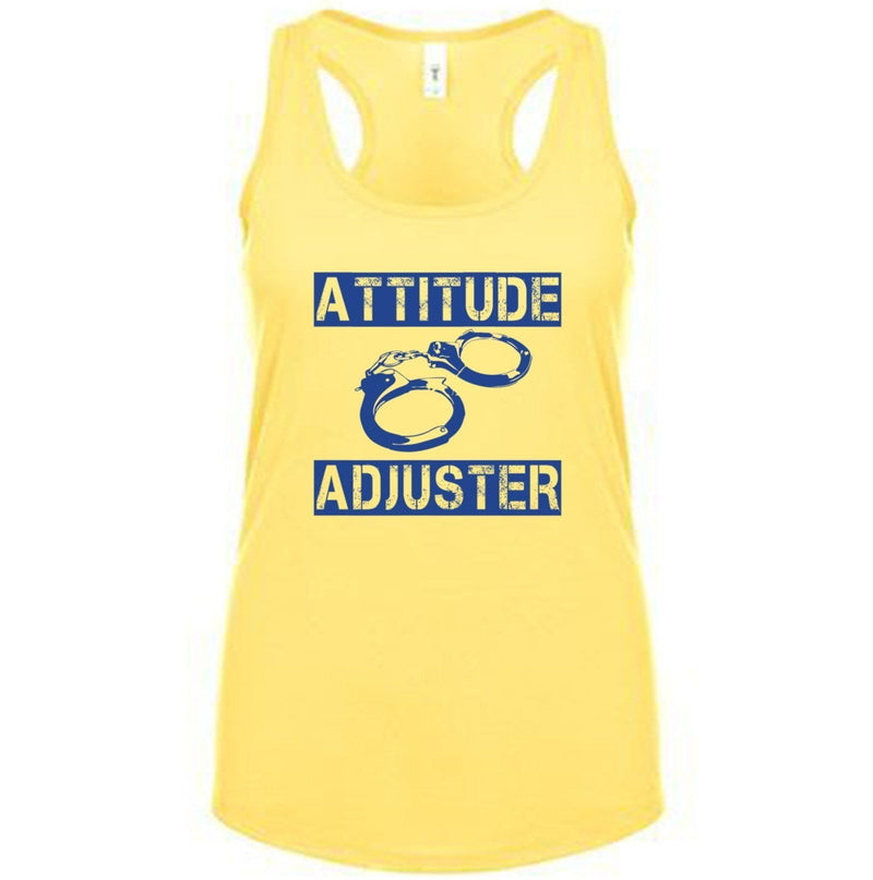 ATTITUDE ADJUSTER FITTED RACERBACK TANK TOP