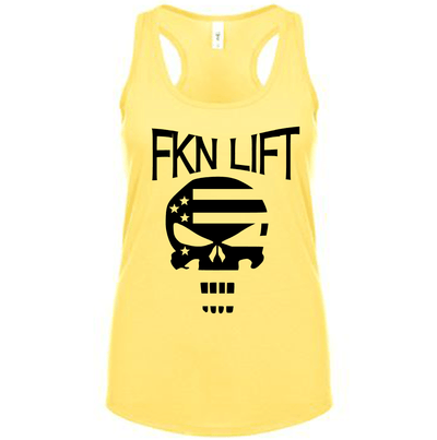 Fitted Racerback Tank - FKN LIFT FITTED RACERBACK TANK TOP