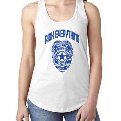 Fitted Racerback Tank - RISK EVERYTHING FITTED RACERBACK TANK TOP