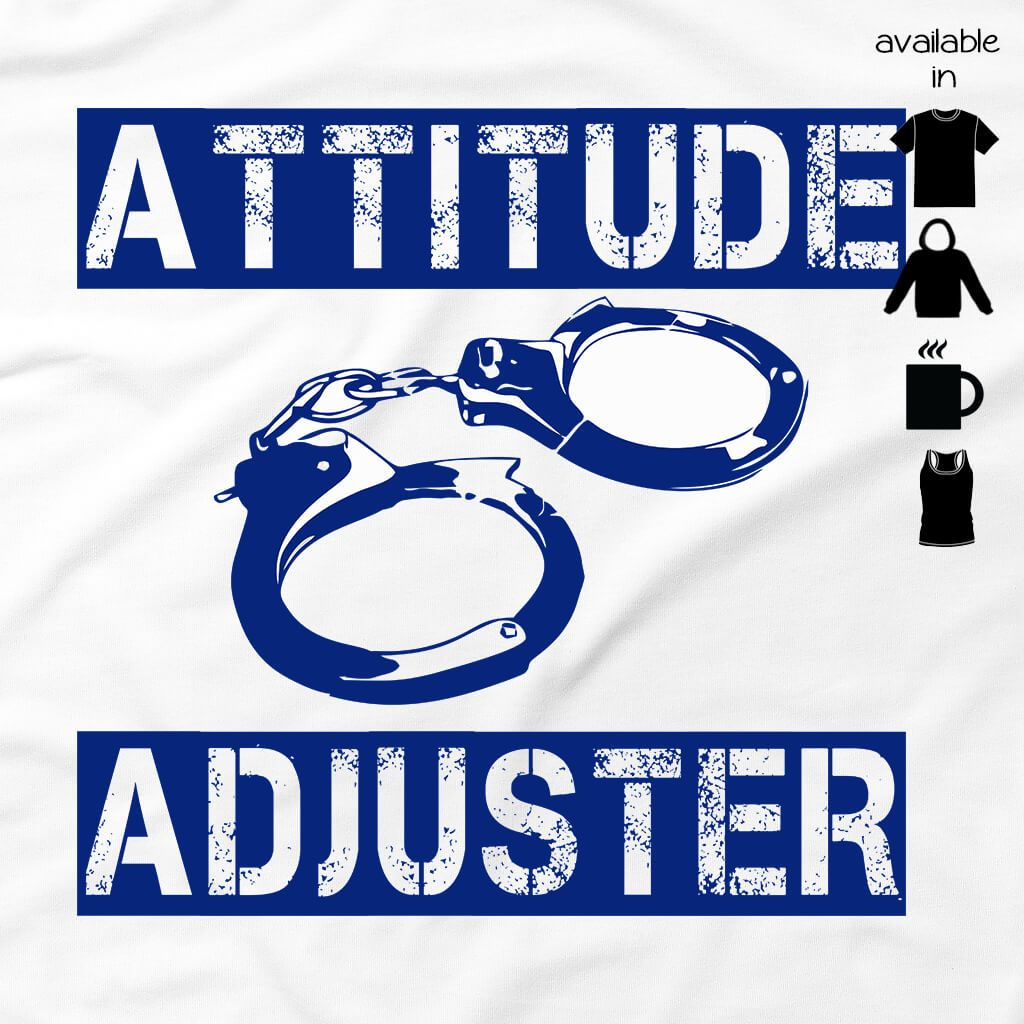 ATTITUDE ADJUSTER LADIES FLOWY RACERBACK TANK TOP