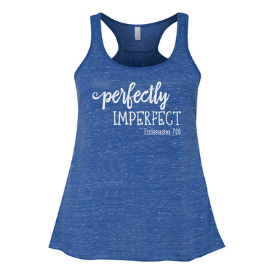 FLOWY RACERBACK TANK - PERFECTLY IMPERFECT FLOWY RACERBACK TOP