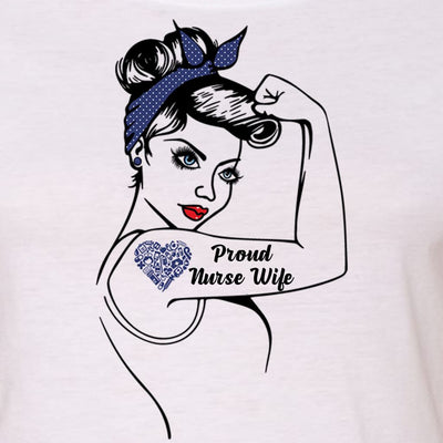 "GIRL POWER - NURSE LIFE - NURSE MOM - NURSE WIFE ""GIRL POWER"" GRAPHIC SHIRT"