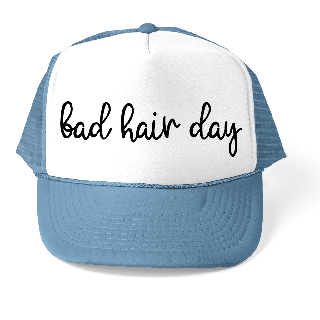 BAD HAIR DAY ATHLETIC TRUCKER STYLE  HAT