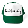 HAT - BAD HAIR DAY ATHLETIC TRUCKER STYLE  HAT