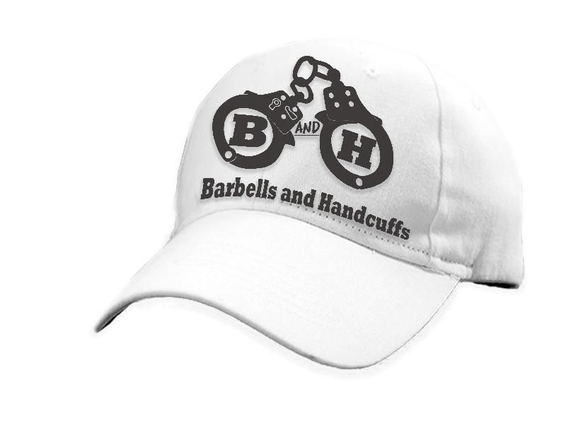 HAT - BARBELLS AND HANDCUFFS LOGO DAD HAT