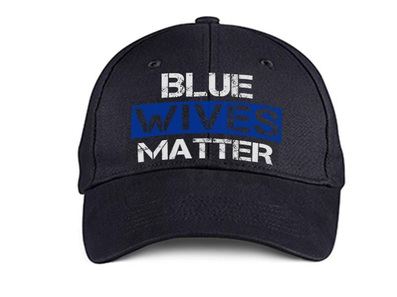 HAT - BLUE WIVES MATTER DAD HAT