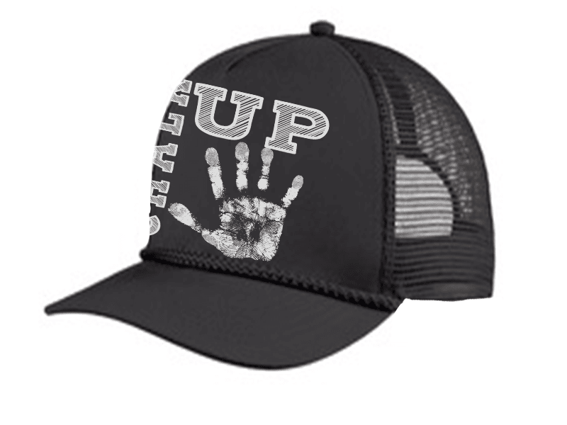 HAT - CHALK UP TRUCKER 5 PANEL CAP