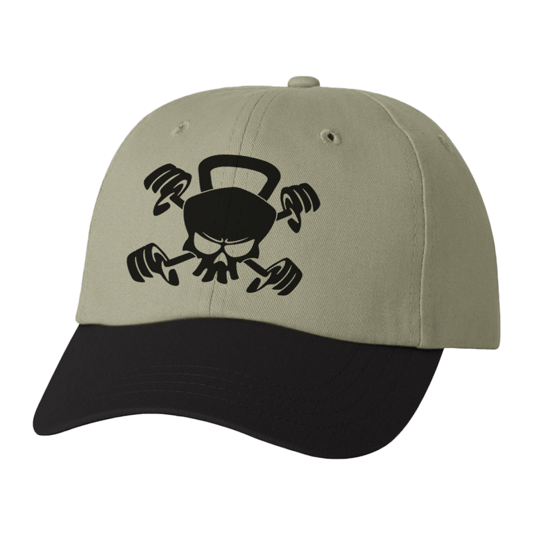 CROSSFIT SKULL KETTLEBELL DAD HAT