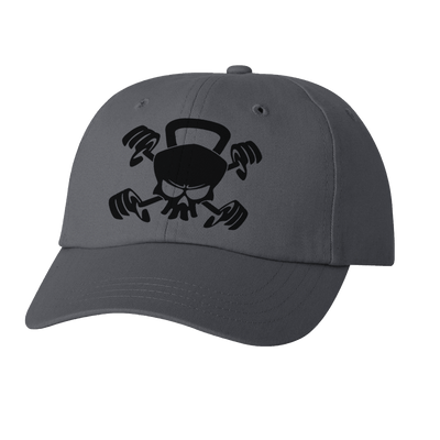 HAT - CROSSFIT SKULL KETTLEBELL DAD HAT