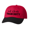 HAT - EAT CLEAN - TRAIN DIRTY ATHLETIC STYLE DAD HAT