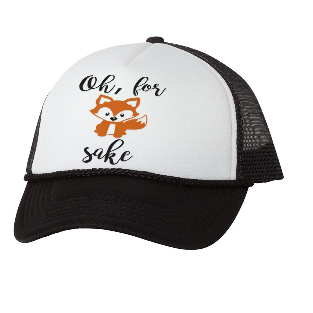 FOR FOX SAFE CUTE GRAPHIC ATHLETIC TRUCKER STYLE  HAT