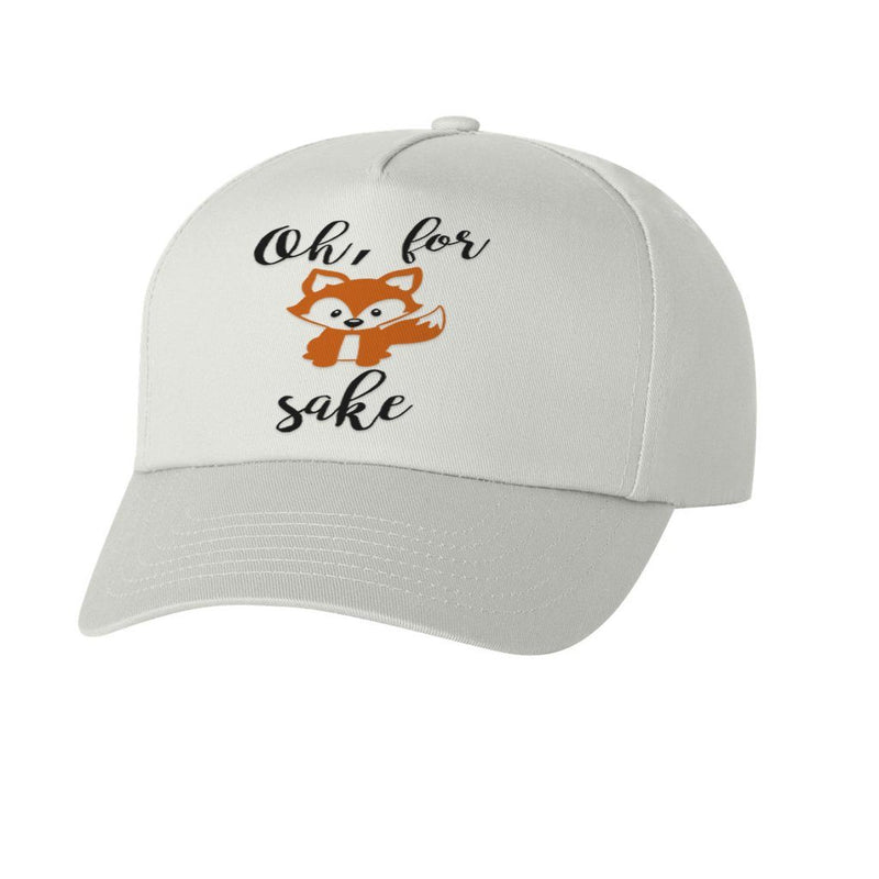 FOR FOX SAKE GRAPHIC ATHLETIC STYLE DAD HAT
