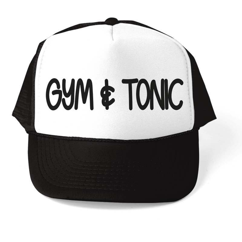 GYM & TONIC ATHLETIC TRUCKER STYLE  HAT