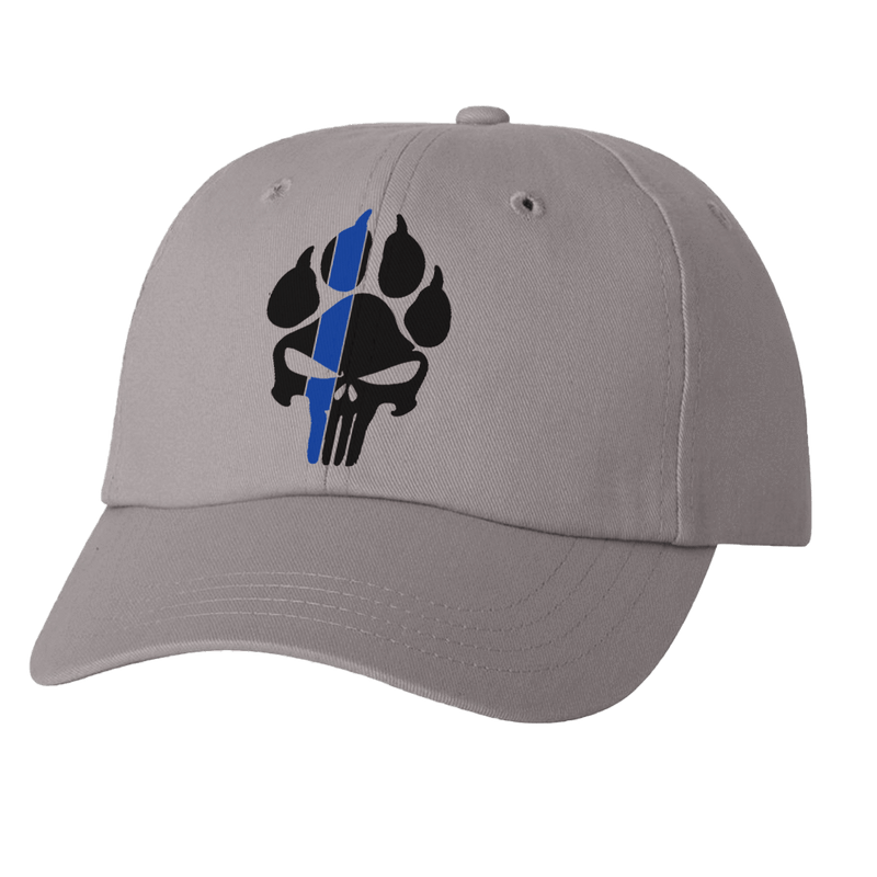 K9 PUNISHER PAW PRINT DAD HAT