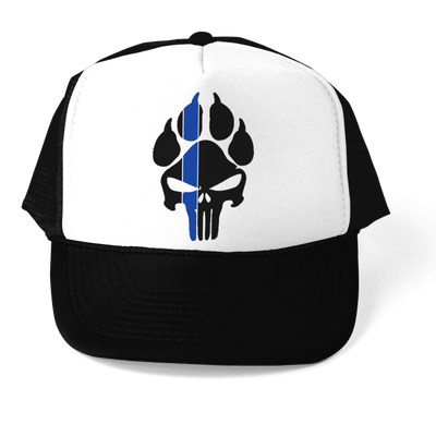HAT - *NEW STYLE* K9 PUNISHER POLICE TRUCKER 5 PANEL CAP