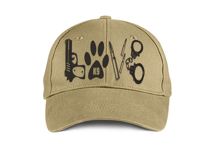 HAT - POLICE LOVE DAD HAT