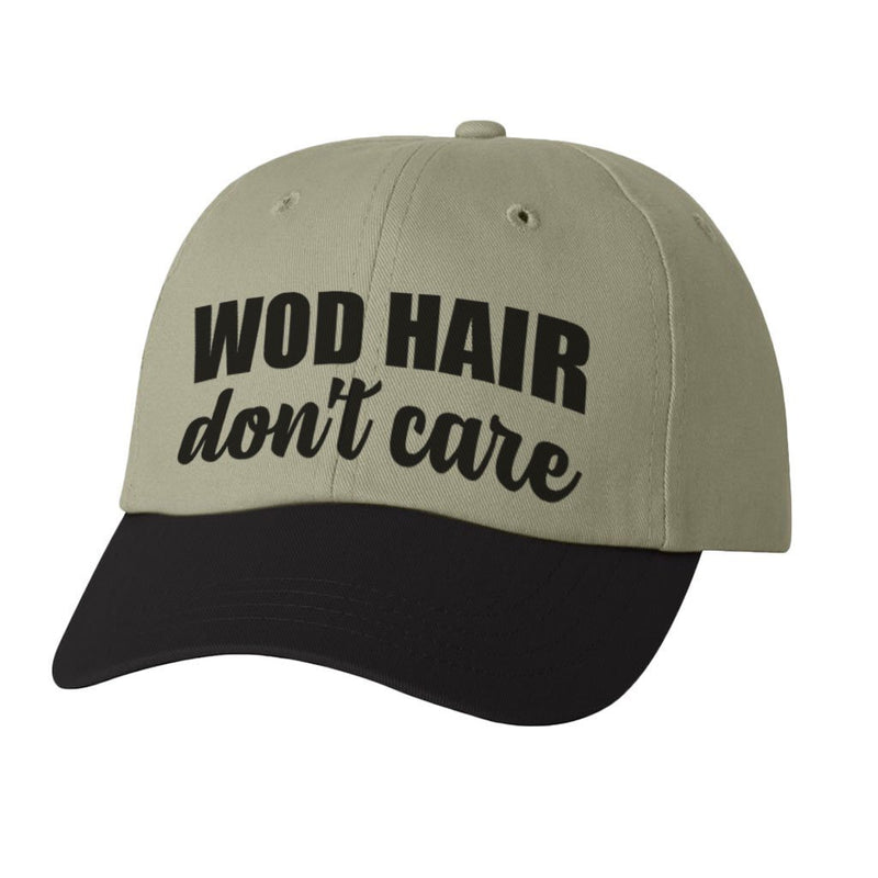 HAT - WOD HAIR DON'T CARE ATHLETIC STYLE DAD HAT