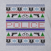HOLIDAY DESIGN - UGLY CHRISTMAS SWEATER POLICE DESIGNER SHIRT