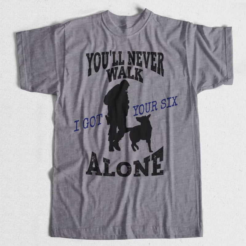 YOU'LL NEVER WALK ALONE K9 SHIRT
