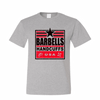 LOGO DESIGN - BARBELLS & HANDCUFFS PATRIOTIC LOGO SHIRT