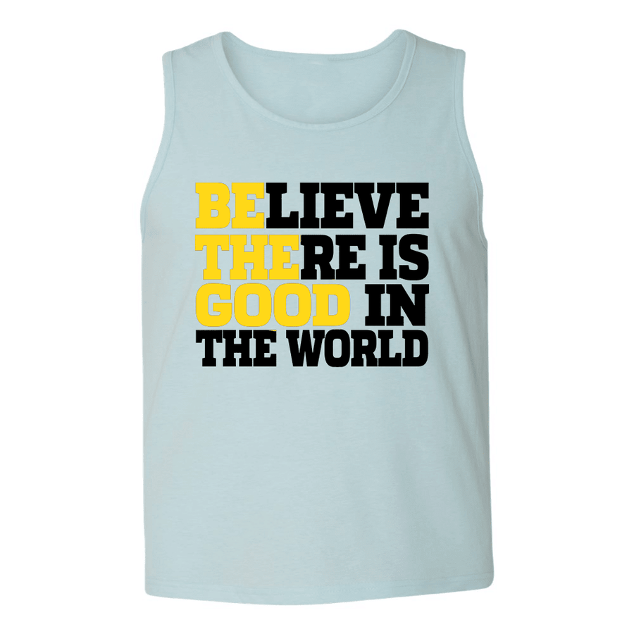 Mens Tank Tops - BE THE GOOD IN THE WORLD MENS TANK TOP