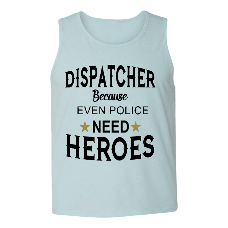 Mens Tank Tops - DISPATCHER HERO MENS TANK TOP