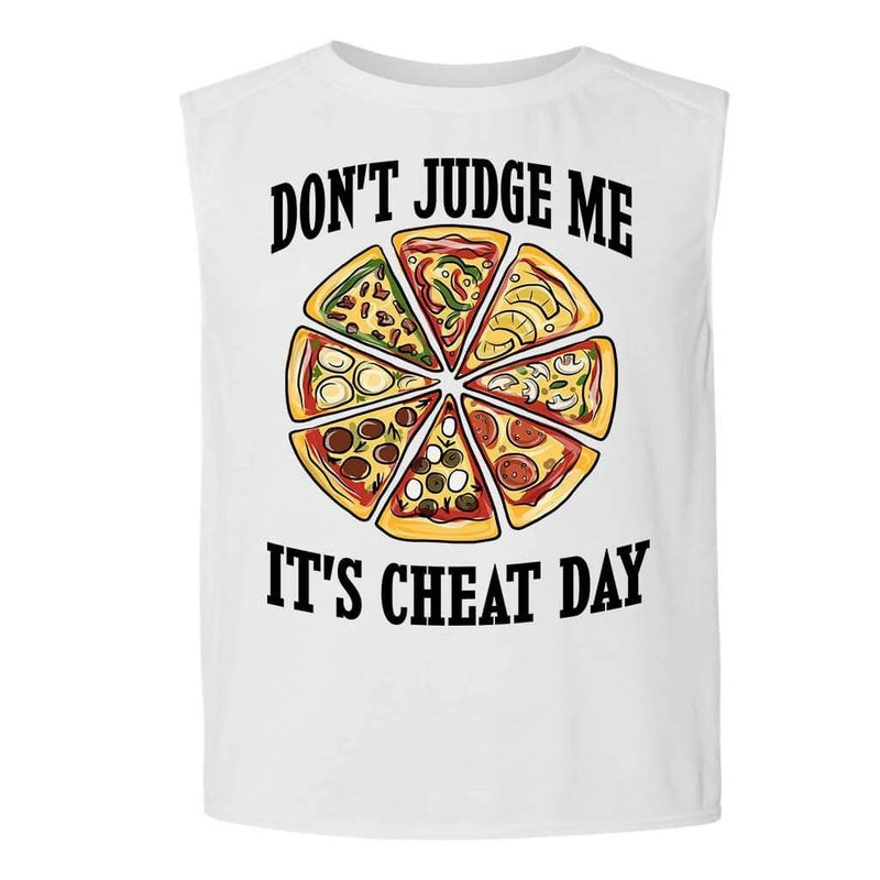 Mens Tank Tops - DON'T JUDGE ME MENS FUNNY TANK TOP