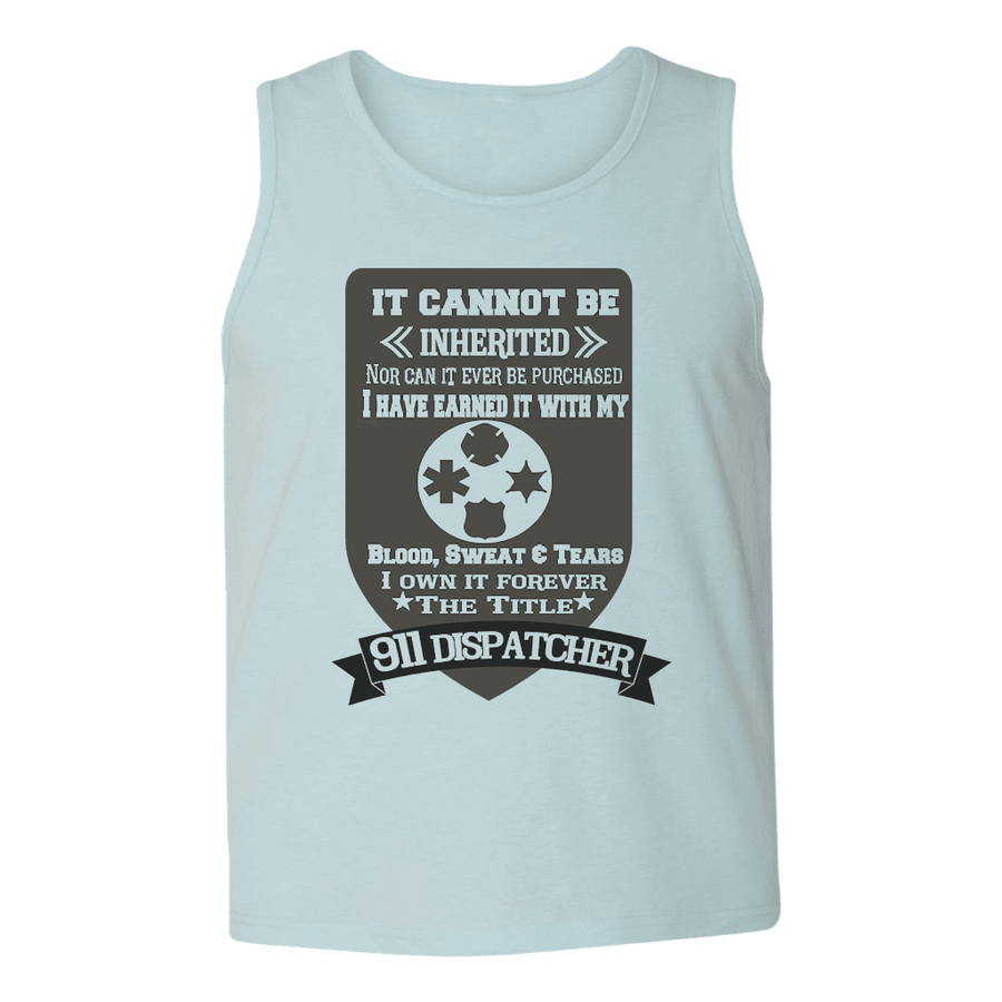 Mens Tank Tops - IT CAN'T BE INHERITED MENS TANK TOP