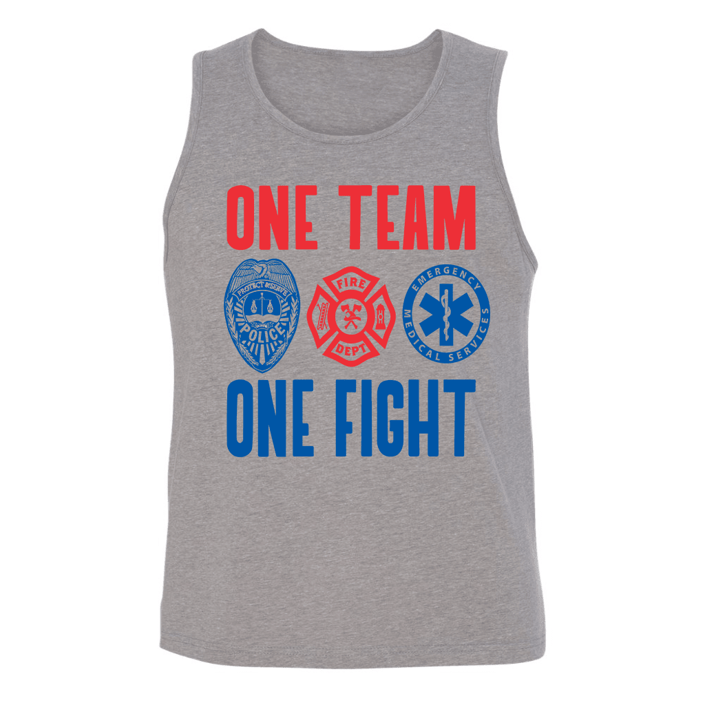 Mens Tank Tops - ONE TEAM ONE FIGHT MENS TANK TOP
