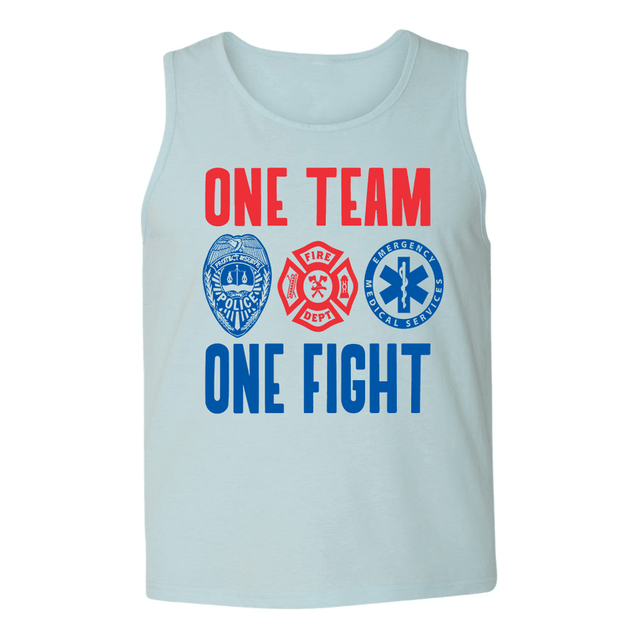ONE TEAM ONE FIGHT MENS TANK TOP