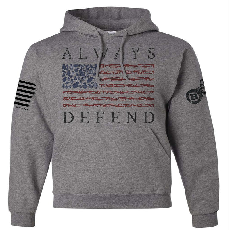 ALWAYS DEFEND VETERAN/MILITARY USA SUPPORT SHIRT