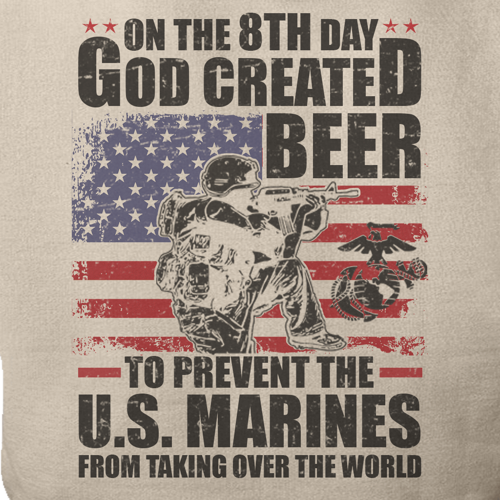 ON THE 8TH DAY MARINE GRAPHIC SHIRT