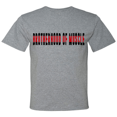 POLICE Design - BROTHERHOOD OF MUSCLE POLICE/FIRE GRAPHIC SHIRT